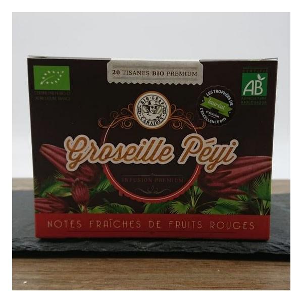 Infusette Groseille Péyi (20 sachets)