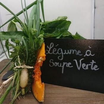 Légumes à soupe verte