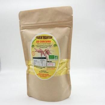 Farine de manioc au curcuma
